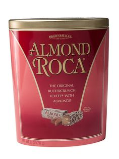 Classic ALMOND ROCA® Buttercrunch combines premium California almonds and pure vanilla with fresh local butter and our Signature Blend of cocoa beans for an irr