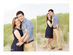 Beach Engagement outfits and colors. Norfolk Engagement photography image from Grant and Deb Photographers - http://grantdeb.com - Facebook: http://fb.com/GrantDebPhotographers