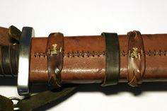view of the back of the scabbard by djorll
