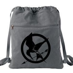 Hunger Games Backpack gray
