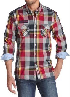 camisas xadrez masculina colorida