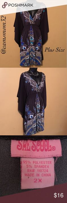 Plus Size dress Great condition, length measures 39 inches, bundle and save more. Dresses