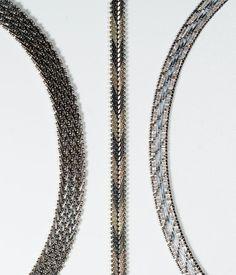In #CherryOrchardAttic on #Etsy Vintage Riccio Chain Italian Sterling Silver Bracelets #BraceletStack #LayeredBracelets #Riccio #silver #sterlingsilver #silverbracelets #sterlingbracelets #braceletlot #chainbracelets #Ricciobracelets #italianbracelets #italiansilver #milorbracelet