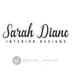 Really neat Premade Business Logo Design - Professional Logo Design - Pre-made Logo - Vector/EPS - CMYK 35.00 USD from BrandiLeaDesigns logo design premade logo pre-made business logo design vector eps graphic design photography logo professional logo custom logo design watermark simple watercolor logo http://ift.tt/1j6r3aK