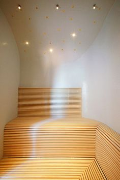 Bastulavar i asp Saunas, Wellness Spa, Make More Money, Aspen, Relax, Stairs, Ceiling Lights, Interior Design, Alchemy