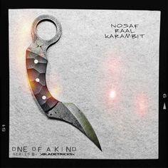 Knife maker Bladetricks One of a kind Nosaf Raal Karambit #knife #handmade #gear
