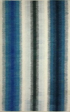 Rugs USA Aurora I Flatwoven Ombre Stripes Blue Rug. Rugs USA Fall Sale up to 80% Off! Area rug, rug, carpet, design, style, home decor, interior design, pattern, trends, home, statement, fall, autumn, cozy, sale, discount, interiors, house, free shipping.