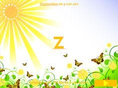 Digibordles de z van zon