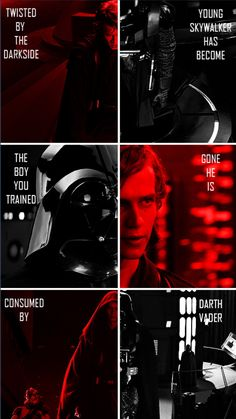 From Anakin to lord Vader