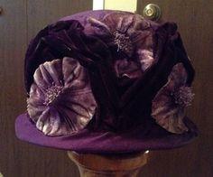 vintage 1920's JL Hudson hat #Bucket