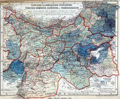 German map of Ottoman Turkish Armenian vilayets yr 1896 Armenian History, Armenian Culture, Jamaica Honeymoon, Cradle Of Civilization, Old Maps, Vintage Maps, Ottoman Empire, Historical Maps, Me On A Map