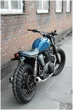 Garage Project Motorcycles : Damn, these Triumphs make great street trackers...