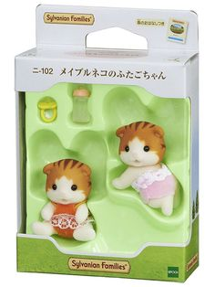 Sylvanian Families MAPLE CAT FATHER Epoch Japan NI-97 Calico Critters