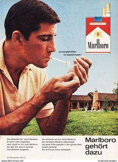 marlboro zigaretten historische werbeanzeige original. Black Bedroom Furniture Sets. Home Design Ideas