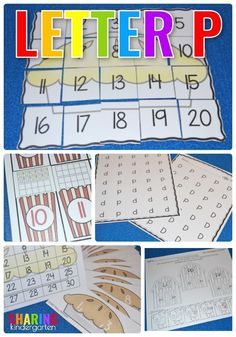 Letter P Activities #alphabetactivities #letterp