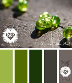 144 Green Glass Hue by Asmalina © 2012 Sorbetcolour ™