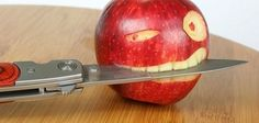 Funny Art With Apple - You are viewing Photo titled Funny Carving On Apple. from the Category Funny Pictures Tags: Designs & Artistic Food Arts Funny Baby Images, Funny Dog Photos, Funny Dog Videos, Funny Pictures, Art Pictures, Funny Pics, Art Pics, Amazing Pictures, Crazy Pictures
