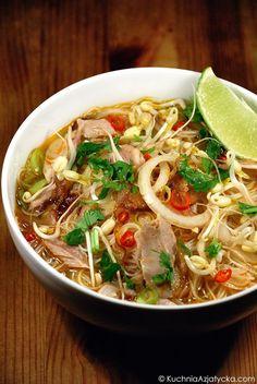 Asian Recipes, Ethnic Recipes, Pho, Japchae, Meals, Cooking, Gastronomia, Kitchens, Kitchen