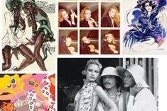Image result for fashion illustrator antonio lopez