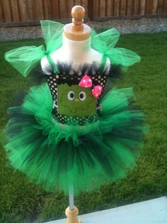 Little Miss Frankenstein Tutu costume (ButterflyBowtique/Etsy)
