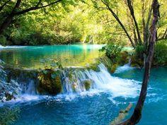 Turquoise Pool, Plitvice, Croatia