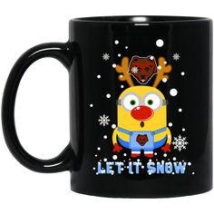 Brown Bears Minion Mug Let It Snow Coffee Mug Tea Mug