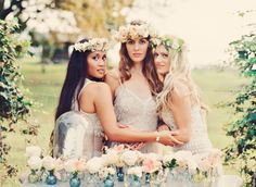 Romantic Bohemian Bridesmaid Inspiration | photography by http://tamizphotography.com