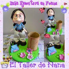 Muñecas Personalizadas en Foami en 3D