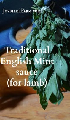 Traditional mint sauce only requires 4 ingredients.  Mint grows so vigorously that once you know the recipe you'll never need to buy mint sauce in a bottle again.  This recipe is for a mint sauce to make fresh as you need it.  The recipe will keep in the fridge for a month.