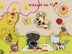 Woezel en Pip - Puzzelbord