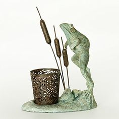 Bombay Company Leaping Frog Candle * Details can be found by clicking on the image.