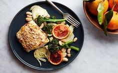 Broiled Cod With Fennel and Orange / Photo by Chelsea Kyle, Food Styling by Anna Stockwell