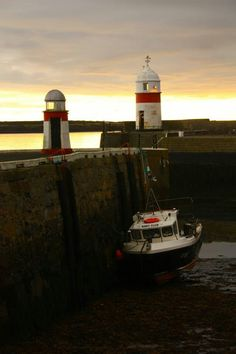 Lighthouses, Castletown, Isle of Man