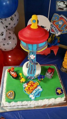 Care 4 Cakes latest cake paw patrol theme