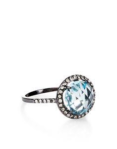 Suki Crystal Stone Ring