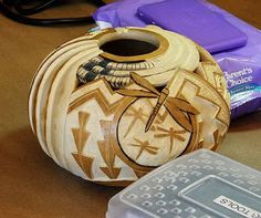 Gourd crafting tutorial - Making