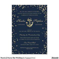 Nautical Starry Sky Wedding