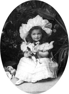Olga Nicoloaievna Romanova --First child of Tsar Nicholas II and Alexandra of Russia.  Born November 1895 . . .