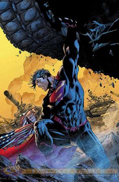 Superman Man of Steel DC Comics New 52 Jim Lee Covers Superheroes Superhero