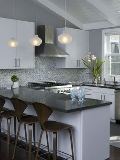 This was the inspirational look for our kitchen