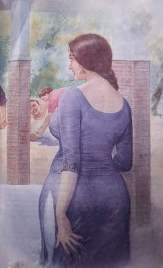 Indian Women Painting, Indian Art Paintings, Beautiful Girl In India, Beautiful Girl Image, Beautiful Women, Sexy Painting, Woman Painting, Body Image Art, Funny Memes Images