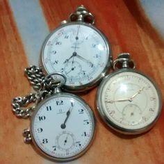 bcdd9bf0d3c Relogios de bolso antigo alpina cronografo