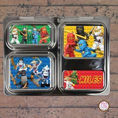 PlanetBox magnets for PlanetBox Launch personalized designs  – by Max & Otis Designs
