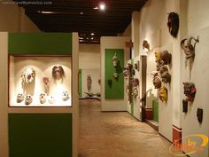 More than five thousand Mexican masks, Rafael Coronel Museum