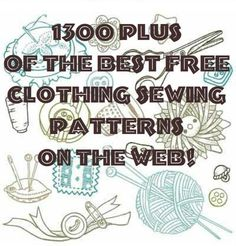 Sewing is great, isn't it? Even if you are not considered an expert sewer, there is just something about finding great free patterns and boy, do we know where you can get a lot of them. These...