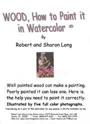 Instructional Kit Easy To Follow  Painting detailed Wood & texture