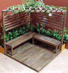 Outdoor Garden Furniture Beste Ideen Patio Bois Decks Yards Kill 'em or Cure 'em: Moving Housepl Front Yard Landscaping, Backyard Patio, Backyard Ideas, Courtyard Landscaping, Backyard Seating, Backyard Privacy, Patio Ideas, Back Gardens, Outdoor Gardens