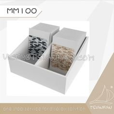 Tsianfan Industrial & Trading Co.,Ltd is the leader of the stone quartz display rack,Stone Sample Book,Mosaic Sample Board.We have more than 10 years of experience in stone display,stone exhibition design,etc. If you need more detail information,pls contact Vicky@tsianfan.com Sample Box, Quartz Stone, 10 Years, Mosaic, Decorative Boxes, Industrial, Display, Detail, Book
