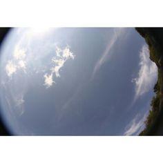 Cielo d'Irlanda - Fotografato con Canon7D -Fisheye