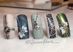 NagelDesign Elegant () - NagelDesign Elegant ((notitle)) # Informations About NagelDesign Elegant ( (notitle) ) Pin You can e - 3d Nail Art, Nail Polish Art, Acrylic Nail Art, Nail Art Tools, 3d Nails, Art 3d, Beautiful Nail Designs, Beautiful Nail Art, Gorgeous Nails